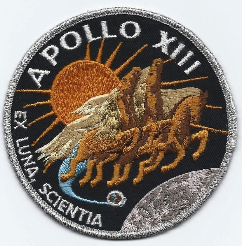 Apollo 13 Patch Apollo 13 Patch