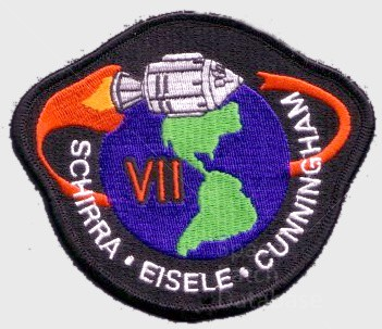 "Apollo 7 - 4"" - Cape Kennedy Medals 