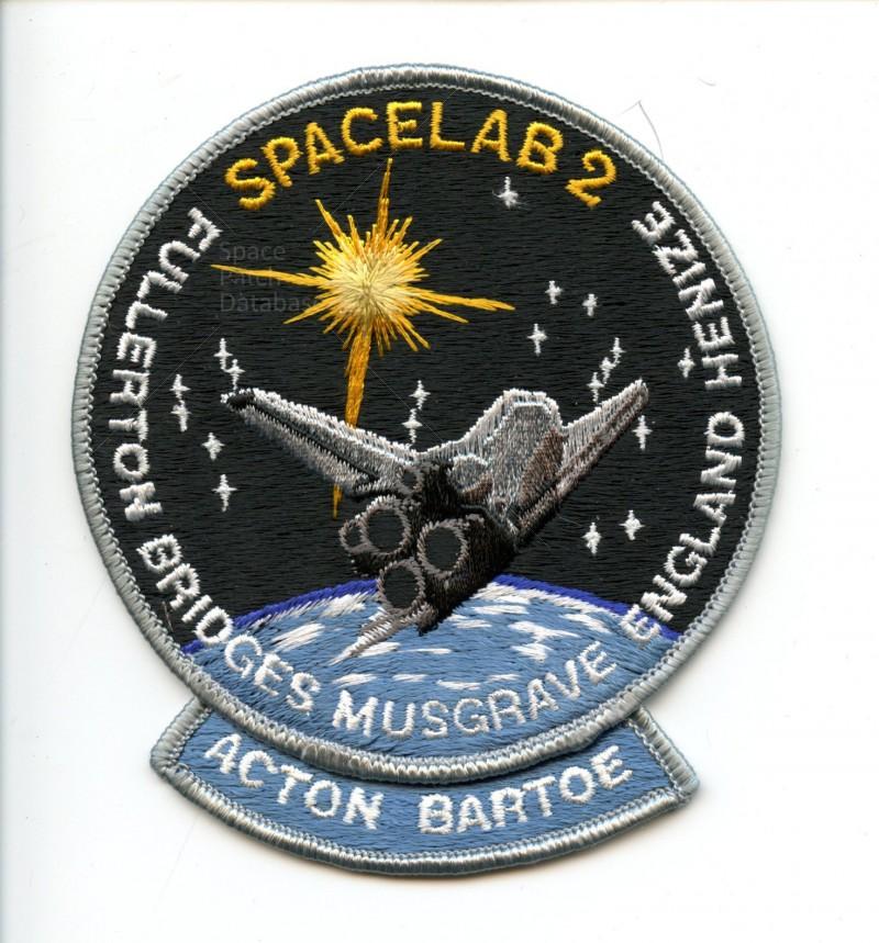 STS-41F - A-B Emblem   Space P...