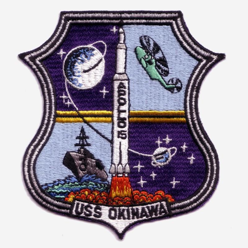 Apollo 15 - USS Okinawa - Recovery fleet - Gemsco | Space ...
