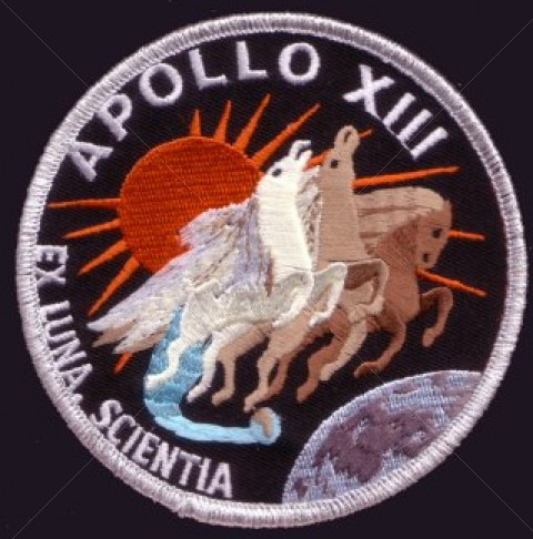 Apollo 13 Patch This Apollo 13 Patch is Part