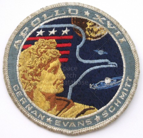 Project Apollo 17 Patches - Pics about space