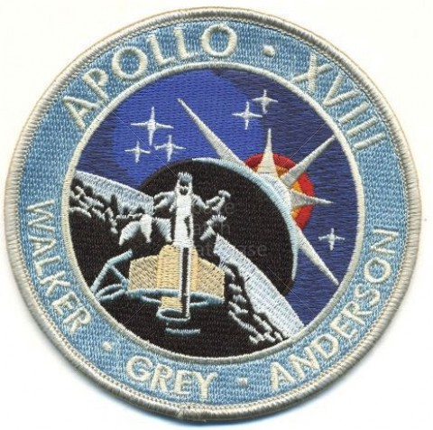 Apollo 18 Patch - Pics about space