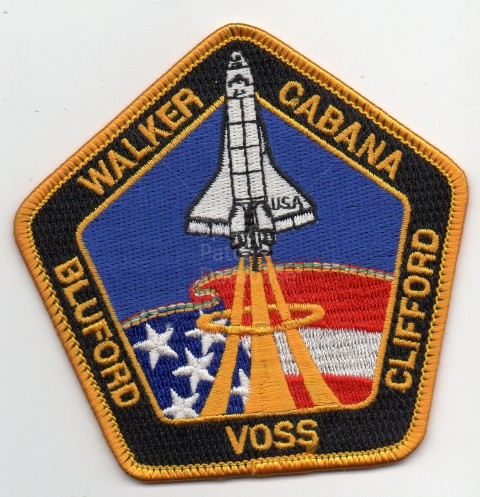 NASA SHUTTLE Endeavour STS-88 STEALTH DOG CREW III ISS MISSION SPACE PATCH