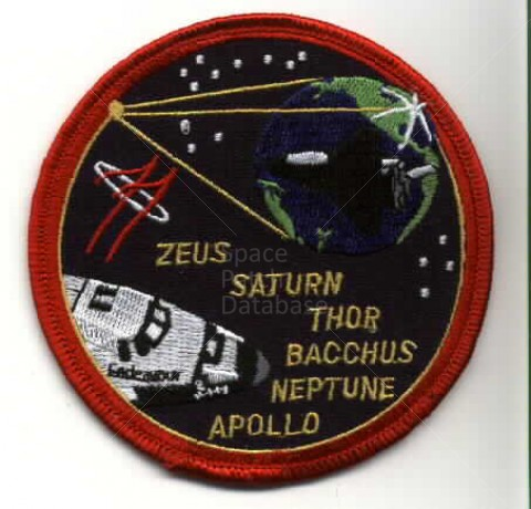 mission space patch 1984 - photo #1